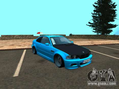 BMW M3 E46 Stance for GTA San Andreas left view