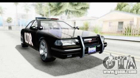 Vapid ULTOR Police Cruiser for GTA San Andreas right view