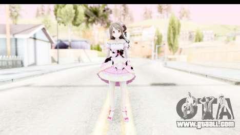 CGSS - Uzuki Peacefull Dance Rilaneko for GTA San Andreas second screenshot