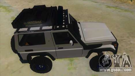 Toyota Machito Semi Off Road for GTA San Andreas inner view