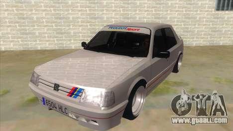 Peugeot 309 Rallye for GTA San Andreas