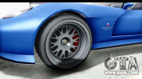 GTA 5 Bravado Banshee 900R Mip Map for GTA San Andreas back view