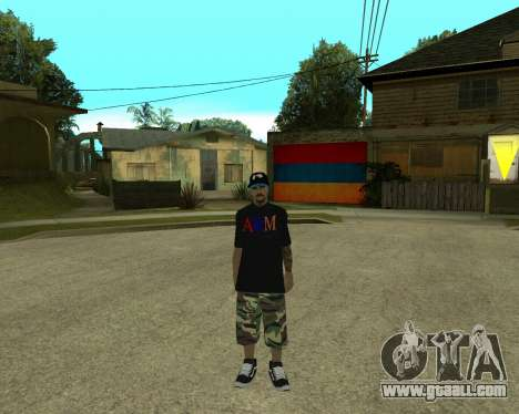 New Armenian Skin for GTA San Andreas