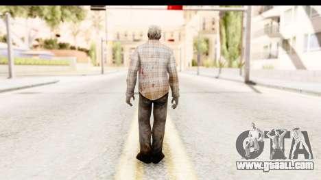 Left 4 Dead 2 - Zombie Shirt 2 for GTA San Andreas third screenshot