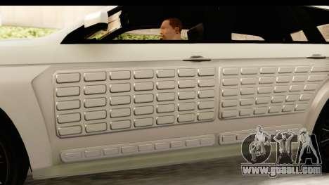 GTA 5 Benefactor XLS SA Style for GTA San Andreas interior
