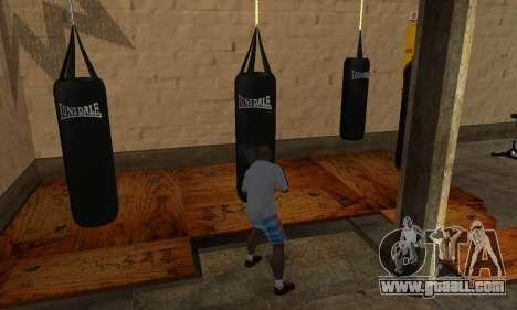 LonsDale punching bag for GTA San Andreas third screenshot