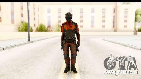 Homefront The Revolution - KPA v5 Red for GTA San Andreas second screenshot