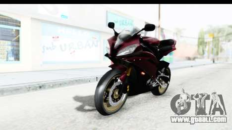 Yamaha YZF-R6 2008 for GTA San Andreas