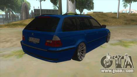 BMW E46 Touring Facelift for GTA San Andreas right view