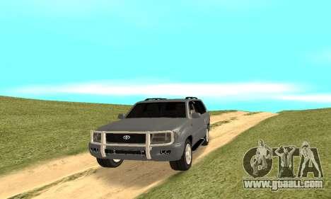 Toyota Land Cruiser 100 for GTA San Andreas