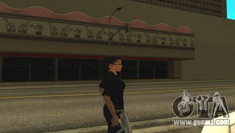 Skin of a female officer for GTA San Andreas second screenshot