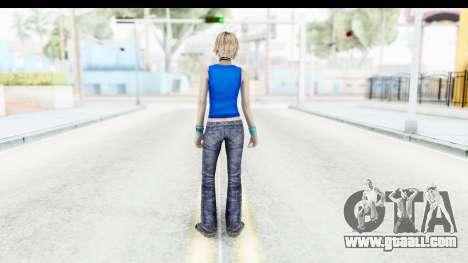 Silent Hill 3 - Heather Sporty Super Girl for GTA San Andreas third screenshot
