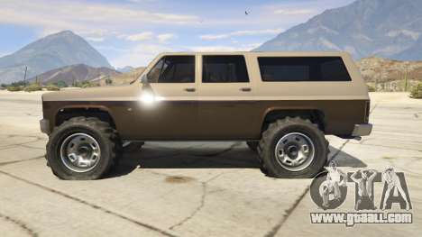 GTA 5 Off-roading Rancher second screenshot