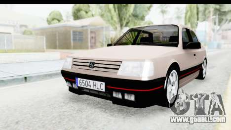 Peugeot 309 GTi for GTA San Andreas back left view