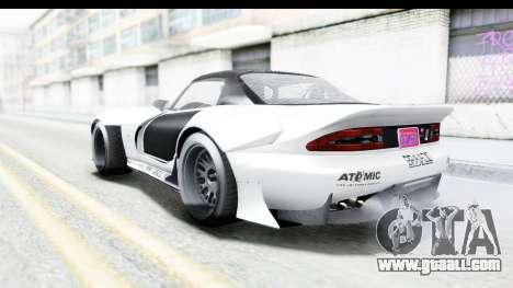 GTA 5 Bravado Banshee 900R Mip Map for GTA San Andreas bottom view