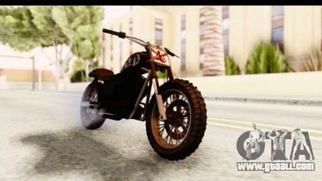 GTA 5 Western Cliffhanger Custom v1 for GTA San Andreas right view