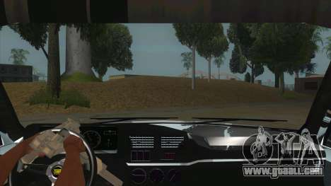 Peugeot 309 Rallye for GTA San Andreas inner view