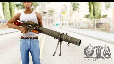 Lewis Machinegun for GTA San Andreas third screenshot