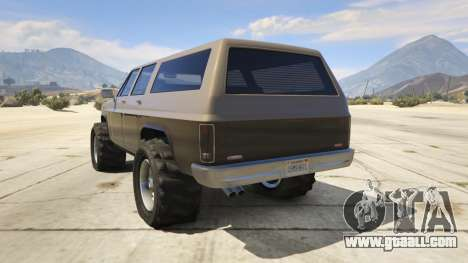 GTA 5 Off-roading Rancher third screenshot