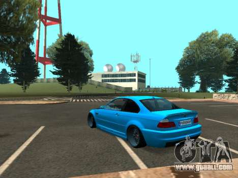 BMW M3 E46 Stance for GTA San Andreas right view