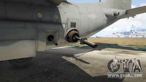 GTA 5 AC-130U Spooky II Gunship tenth screenshot