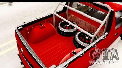 Dacia Duster Pickup for GTA San Andreas side view