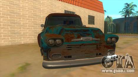 Chevrolet Apache for GTA San Andreas back view