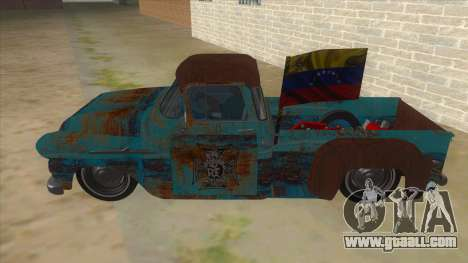 Chevrolet Apache for GTA San Andreas left view