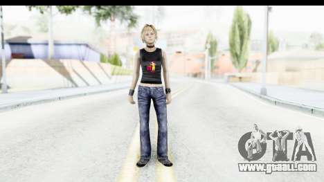 Silent Hill 3 - Heather Sporty Black Pennywise R for GTA San Andreas second screenshot