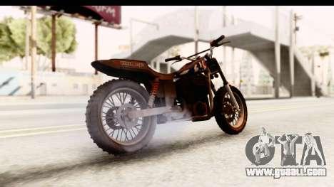 GTA 5 Western Cliffhanger Custom v2 IVF for GTA San Andreas back left view