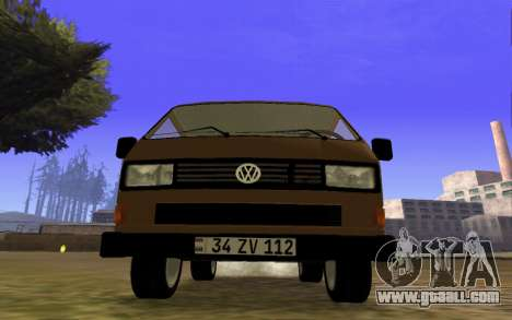 Volkswagen Transporter T-3 Armenian for GTA San Andreas left view