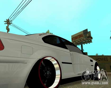 BMW M3 Armenian for GTA San Andreas