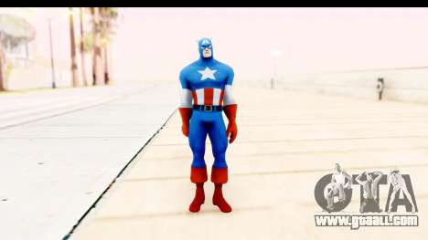 Marvel Heroes - Captain America for GTA San Andreas second screenshot
