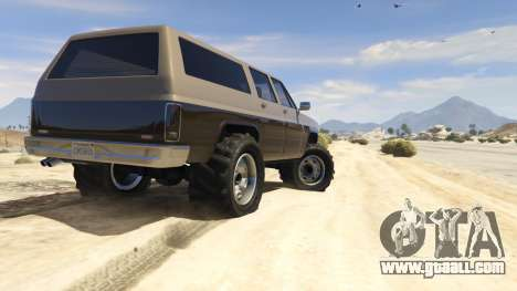 GTA 5 Off-roading Rancher fifth screenshot