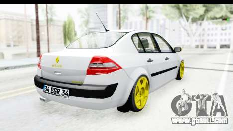 Renault Megane for GTA San Andreas left view