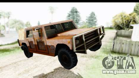 Rusted Patriot for GTA San Andreas