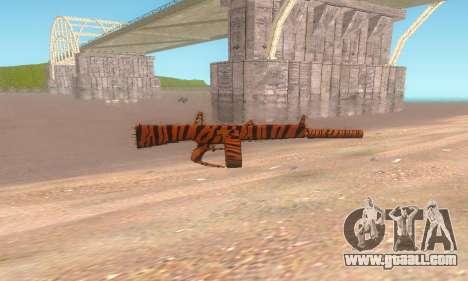 AA-12 for GTA San Andreas third screenshot