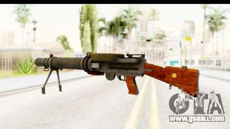 Lewis Machinegun for GTA San Andreas second screenshot
