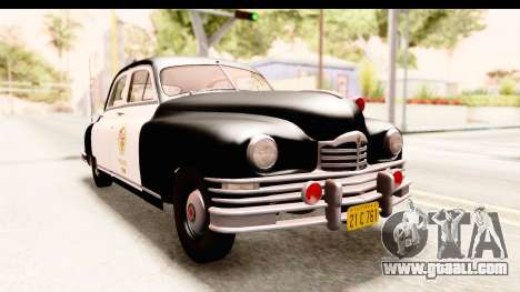 Packard Standart Eight 1948 Touring Sedan LAPD for GTA San Andreas right view