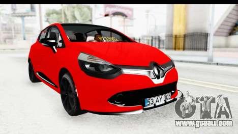 Renault Clio Four Air for GTA San Andreas