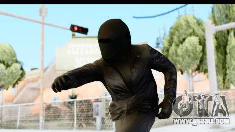 GTA 5 Heists DLC Male Skin 2 for GTA San Andreas