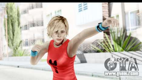 Silent Hill 3 - Heather Sporty Red Mickey Mask for GTA San Andreas