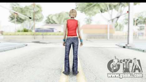 Silent Hill 3 - Heather Sporty Red Mickey Mask for GTA San Andreas third screenshot