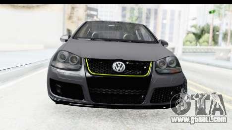 Volkswagen Golf 5 Stock for GTA San Andreas