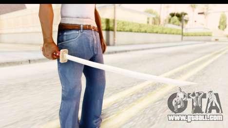 Bleach - Rukia Weapon for GTA San Andreas