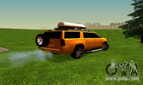 Chevrolet Suburban for GTA San Andreas right view