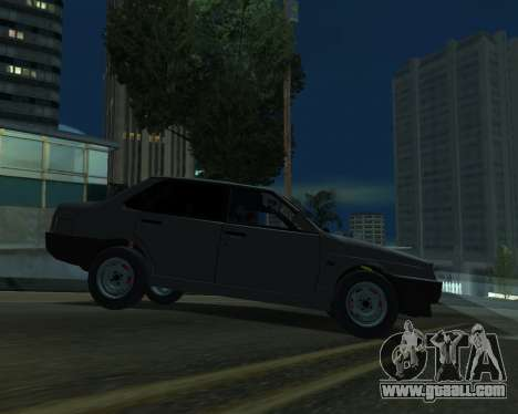 Vaz 21099 ARMNEIAN for GTA San Andreas right view