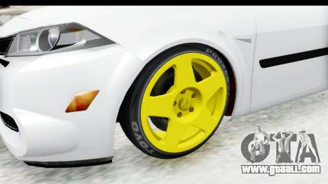 Renault Megane for GTA San Andreas back view