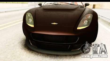 GTA 5 Dewbauchee Rapid GT SA Style for GTA San Andreas side view