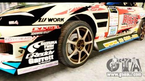 D1GP Nissan Silvia RC926 Toyo Tires for GTA San Andreas back view